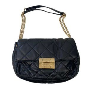 Michael Kors Black Sloan Small Quilted Leather bag